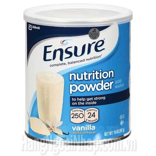 Sữa Ensure Bột Của Mỹ Hộp 397g