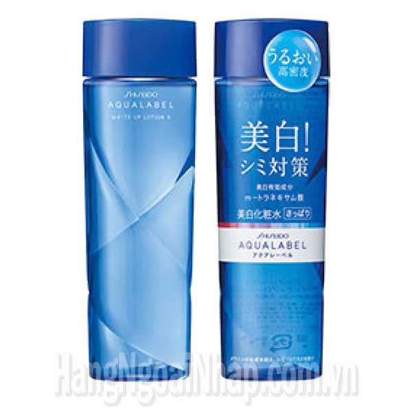 Nước Hoa Hồng Shiseido Aqualabel White Up