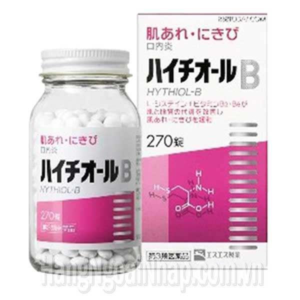Viên Uống Trị Mụn Trứng Cá Hythiol B 270 Viên Của Nhật
