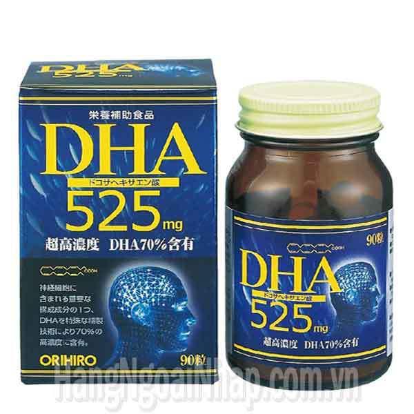 Thuốc Bổ Não Dha Orihiro 525mg 90 Viên chính hãng Của Nhật