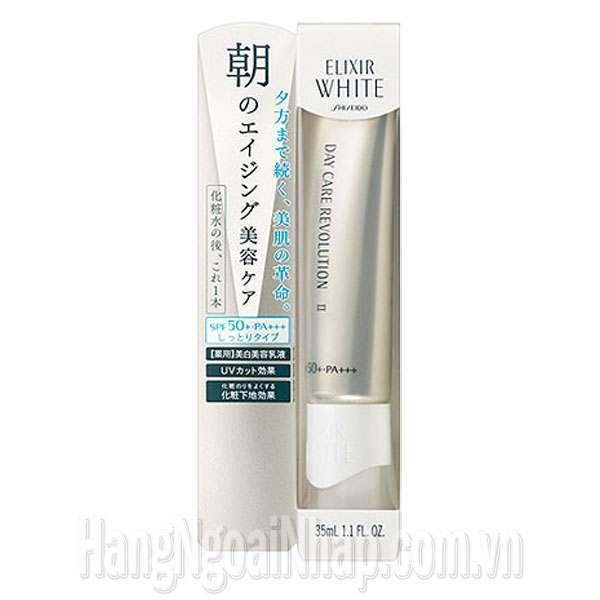 Kem Dưỡng Da Ban Ngày Shiseido Elixir White Day Care Revolution