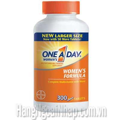 Viên Uống Bổ Sung Vitamin One A Day Women Multivitamin Của Mỹ