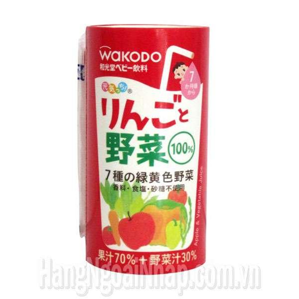 Nước Ép Trái Cây Wakodo 125ml Của Nhật