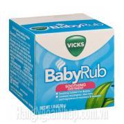Dầu Bôi Ấm Ngực Vicks BabyRub 50g Của Mỹ