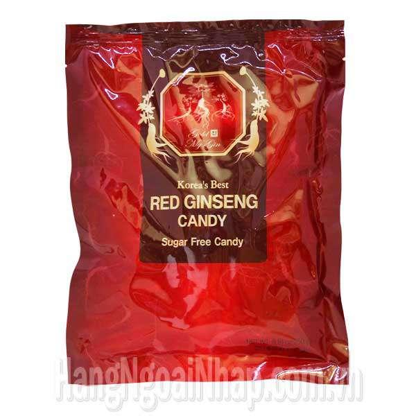 Kẹo Hồng Sâm Không Đường Daedong Red Ginseng Candy