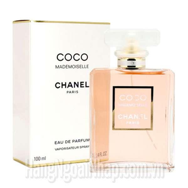 Nước Hoa Dành Cho Nữ Chanel Coco Mademoiselle Eau De Parfum 100ml