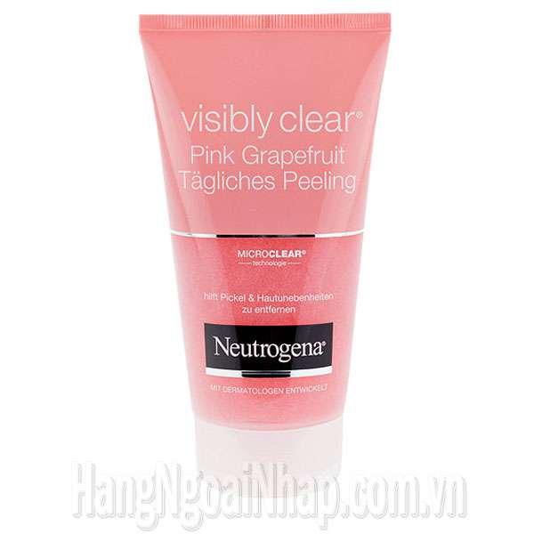 Sữa Rửa Mặt Trị Mụn Neutrogena Visibly Clear Pink Grapefruit Của Pháp