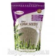 Hạt Chia Morlife Black Chia Seeds Omega 3 Gói 1kg Của Úc
