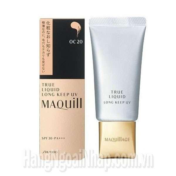 Kem Nền Shiseido True Liquid Long Keep UV Maquillage Của Nhật