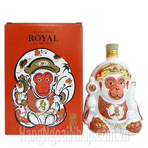 Rượu Con Khỉ Suntory Whisky Royal Cao Cấp 600ml Của Nhật Bản