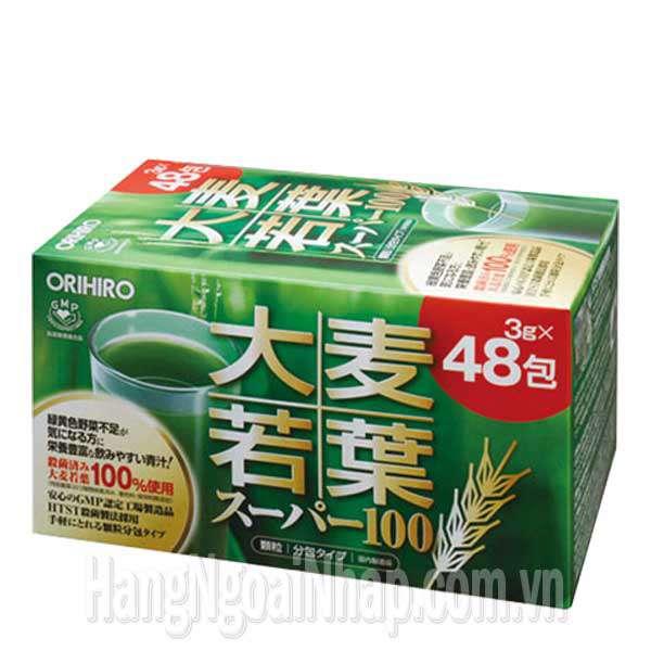 Bột Lúa Non Orihiro 48 Gói Của Nhật Bản