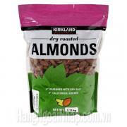 Hạt Hạnh Nhân Tẩm Muối Kirkland Almonds Gói 1.13kg