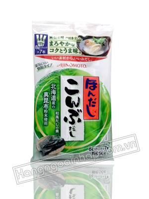Hạt Nêm Rong Biển Cho Bé Ajinomoto Của Nhật Bản 56g