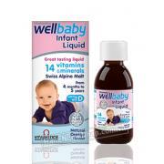 Vitamin Tổng Hợp Bổ Sung Omega 3 Cho Bé WellBaby Infant Liquid