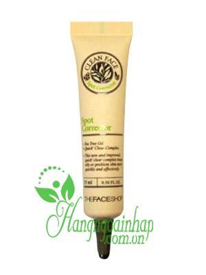 Kem trị mụn The Face Shop Hàn Quốc Clean Face Spot Corector 15ml