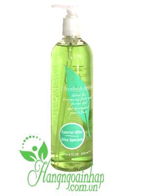 Gel tắm trà xanh Elizabeth Arden Green Tea Shower của Mỹ 500ml