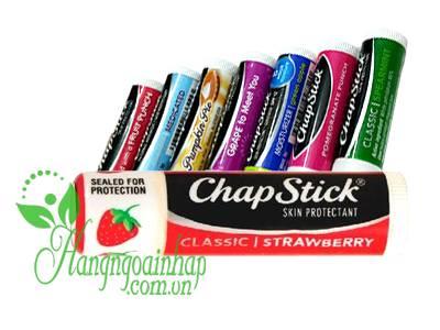 Son dưỡng môi Chapstick 4g hương trái cây của Mỹ