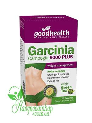 Thuốc giảm cân Garcinia Cambogia Good Health 9000 Plus 60 viên