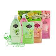 Set sữa tắm Shower Mate Goat Milk 950ml + 350ml Hà...
