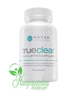 Viên uống trị mụn Navan TrueClear Skin Clarifying Supplement 90 viên