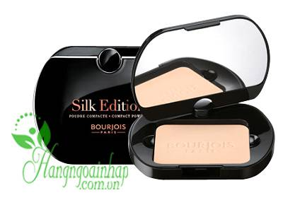 Phấn phủ Bourjois Silk Edition Poudre Compacte của Pháp 9g