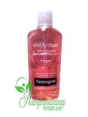Sữa rửa mặt Neutrogena Visibly Clear Gel Nettoyant 200ml