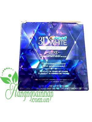 Miếng dán làm trắng răng Crest 3D White Professional Effects của Mỹ