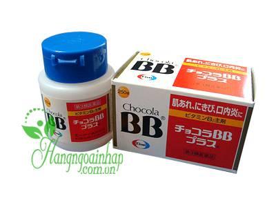 Viên uống trị mụn BB Chocola Pure của Nhật Bản hộp 250 viên