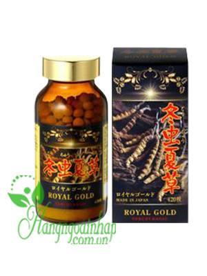 Viên uống đông trùng hạ thảo Tohchukasou Royal Gold Nhật Bản 420 viên