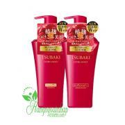 Bộ dầu gội xả Shiseido Tsubaki màu đỏ của Nhật Bản 500ml
