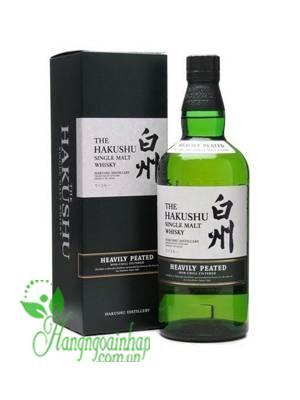 Rượu Whisky Hakushu Single Malt 700ml của Nhật Bản