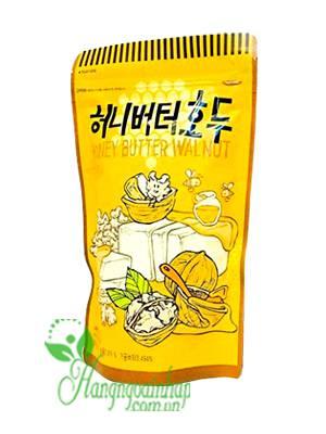 Óc chó tẩm mật ong Honey Butter Walnut 220g của Hàn Quốc