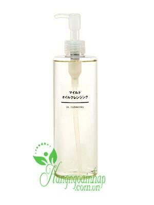 Dầu tẩy trang Muji Cleansing Oil 200ml của Nhật Bản