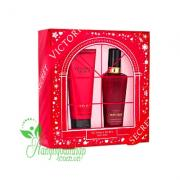 Set nước hoa và lotion Victoria's Secret Holiday G...