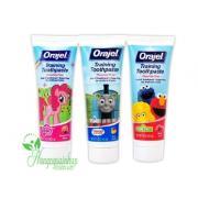 Kem đánh răng Orajel Training Toothpaste nuốt được...