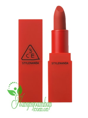 Son 3CE Red Recipe Lip Color của Hàn Quốc
