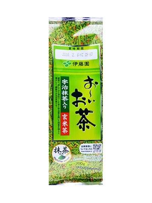 Trà xanh gạo lứt rang 200g của Nhật Bản - Tốt cho sức khỏe