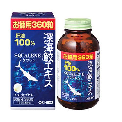 Viên Uống Sụn Vi Cá Squalene Orihiro 360 Viên Của Nhật