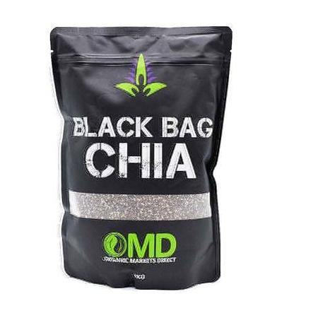 Hạt chia hữu cơ Black Bag OMD Úc 1kg