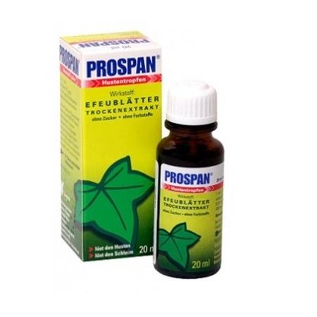 Siro chữa ho Prospan cho bé từ 1 tháng tuổi của Úc 20ml