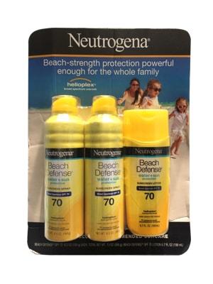 Neutrogena Beach Defense SPF 70, Kem Chống Nắng Hiệu Quả