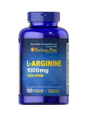 Viên Uống Giải Độc Gan Puritan's Pride L-Arginnine Của Mỹ
