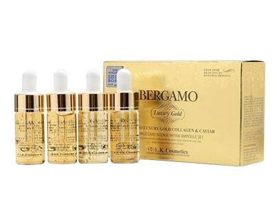 Serum bergamo luxury gold collagen & caviar 15ml Hàn Quốc