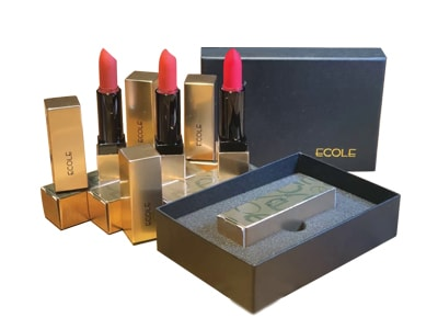 Son Thỏi Lì Ecole Shine Black Lipstick Hàn Quốc 3,5G