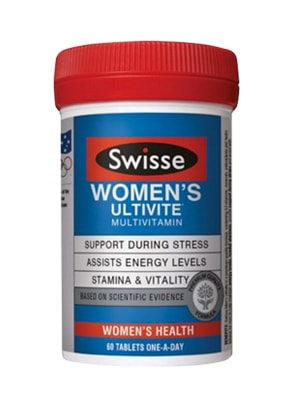 Viên Uống Vitamin Tổng Hợp Cho Nữ Swisse Womens Ultivite Multivitamin