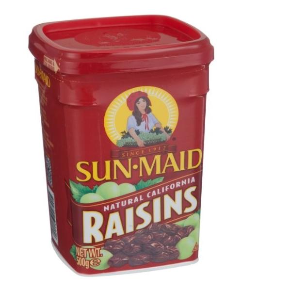 Nho Sấy Khô Sun Maid Raisins Hộp 500g Của Mỹ