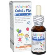 Thuốc Siro cảm cúm Children Cold & Flu Relief Natrabio của Mỹ 30ml