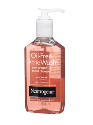 Sữa rửa mặt Neutrogena Oil Free Acne Wash Pink Grapefruit 177ml