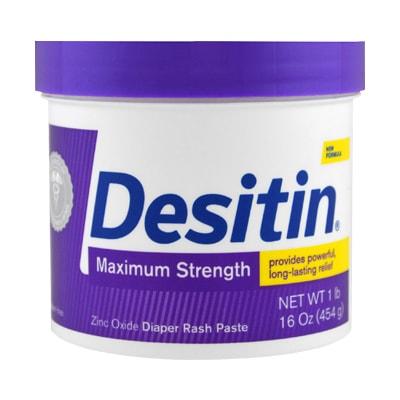 Kem trị hăm Desitin Maximum Strength màu tím 454g của Mỹ