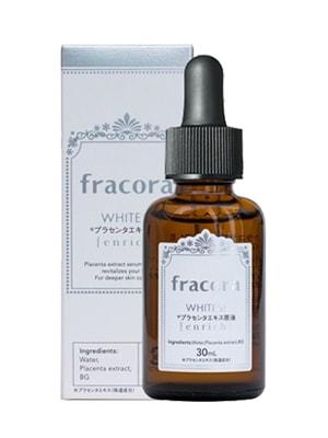 Serum Nhau Thai Fracora White Placenta Extract Enrich 30ml Nhật Bản